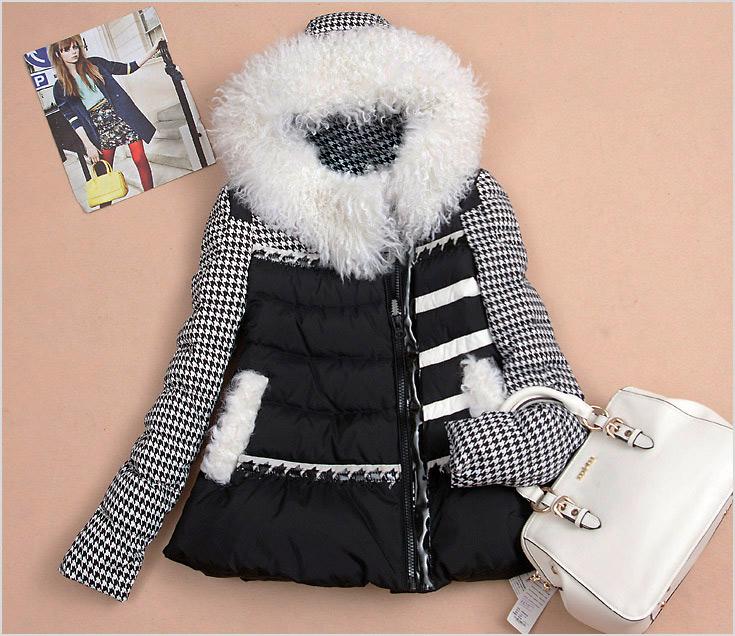 2013冬季女装羽绒服批发流行趋势高清图片